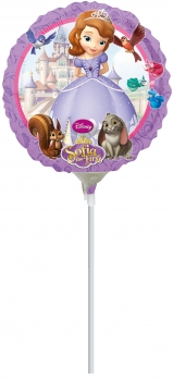 "Mini-Folienballon ""Sofia the First"", rund"