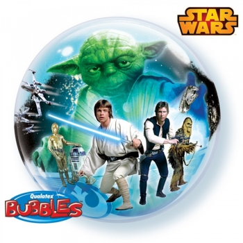 "Bubble-Ballon ""Star Wars"" (heliumgefüllt)"