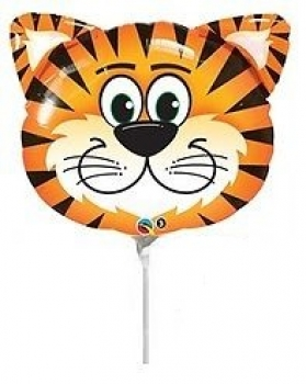 "Mini-Folienballon ""Tiger"""