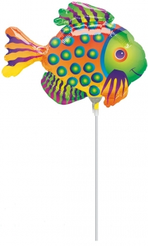 "Mini-Folienballon ""Tropical Fisch"""